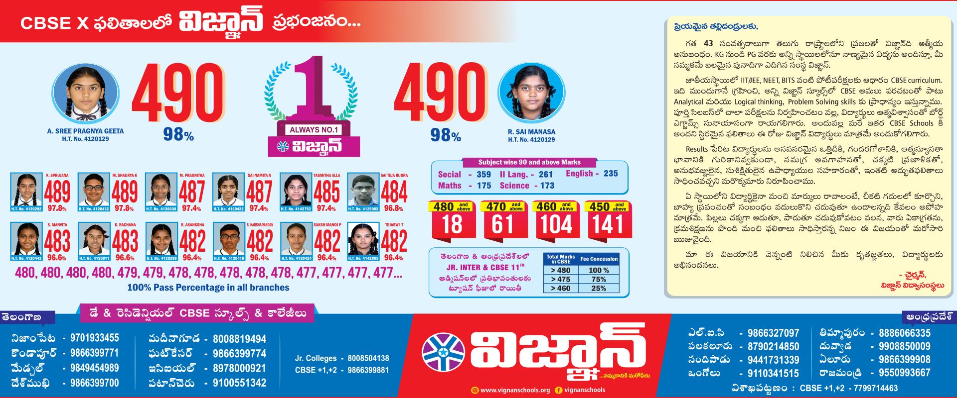 Best CBSE School in Hyderabad | Top Primary & Secondary School in